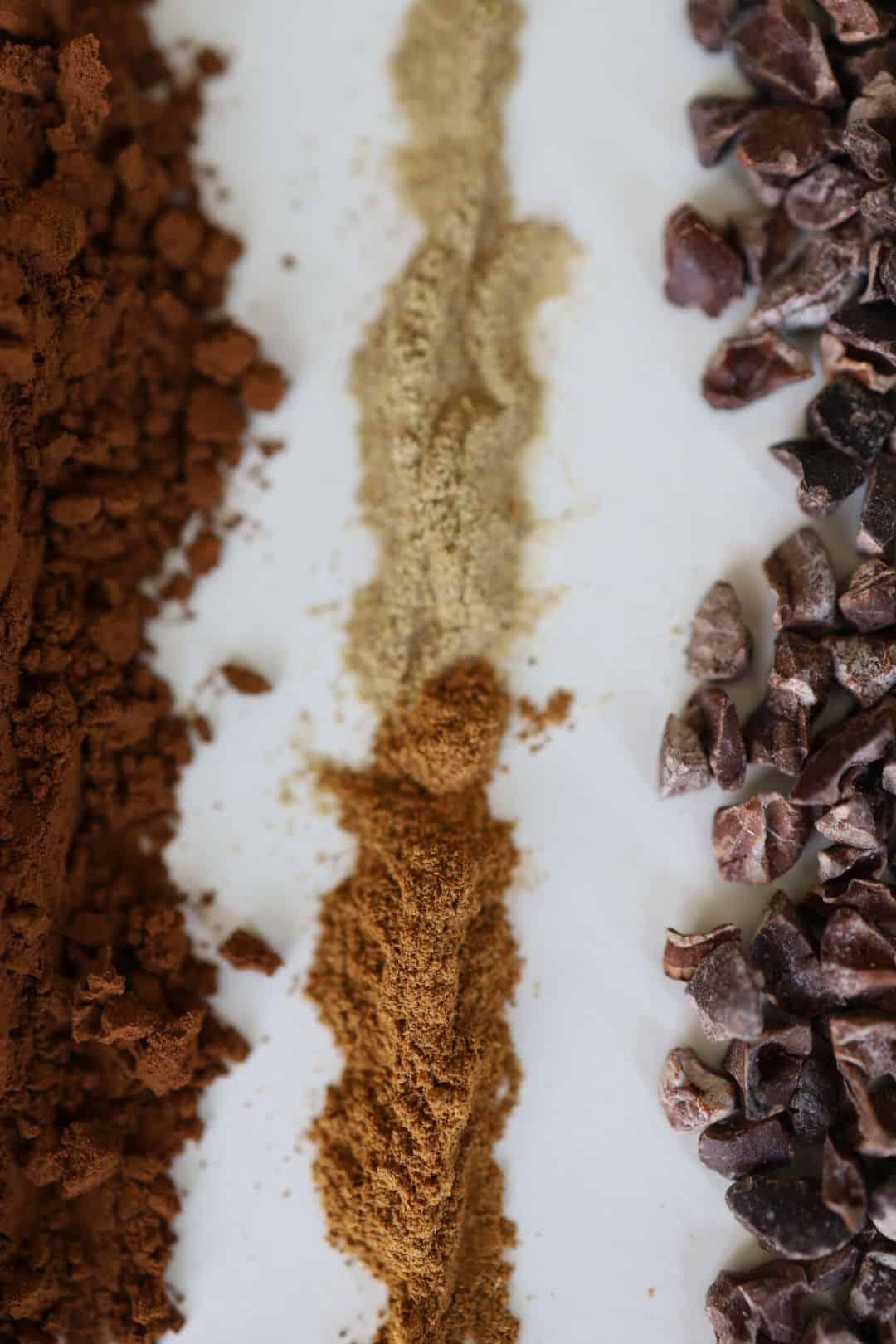 Kakao Zimt Kardamon Kakaonibs