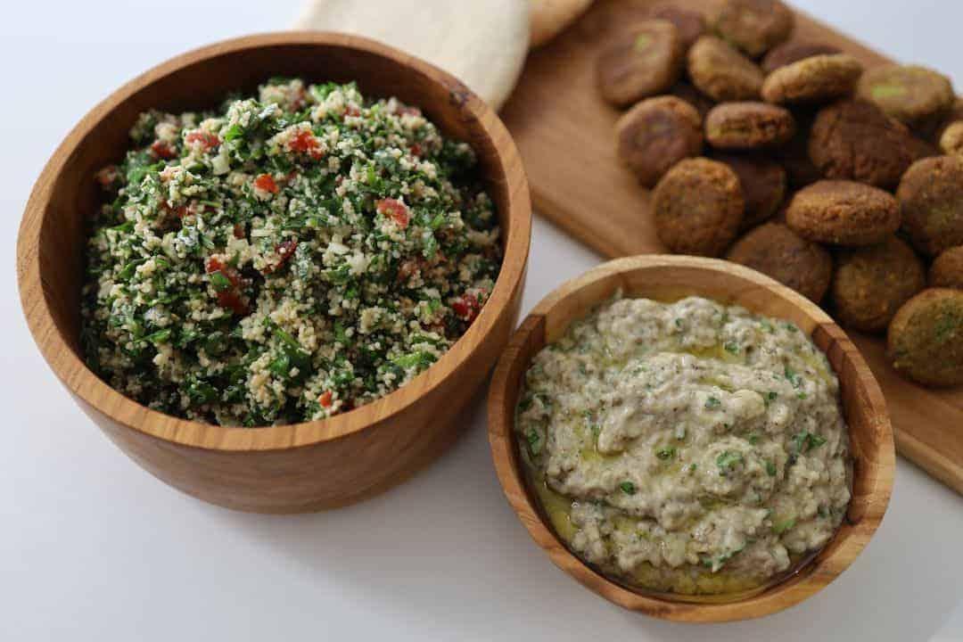 Babaghanoush, Tabouleh